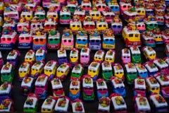 Busbeeldjes voor verkoop bij Chichicastenango-markt Royalty-vrije Stock Afbeeldingen