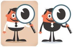 Busca ilustração stock