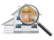 Busca de casa Imagem de Stock