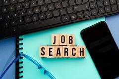 Busca de trabalho Imagens de Stock