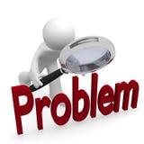 Busca do problema Imagens de Stock Royalty Free