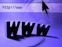 Busca do Web Imagens de Stock