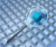 Busca dos bens imobiliários Imagem de Stock Royalty Free