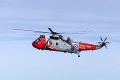 Busca e helicóptero do salvamento Foto de Stock