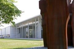Buscando los angeles Luz przed Pinakothek dera Moderne muzeum wewnątrz Obraz Royalty Free