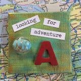 Buscar aventura foto de archivo libre de regalías