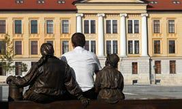 Buscar la universidad Imágenes de archivo libres de regalías