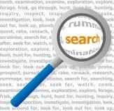 Buscar (vector) Imágenes de archivo libres de regalías