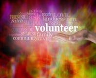 Buscar a voluntarios imagen de archivo libre de regalías