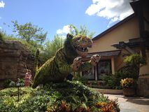 Busch庭院 免版税库存图片