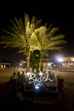 Busch arbeitet im Garten (Tampa) Stockbild