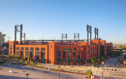 Busch baseball stadium in St Louis, MO Stock Images
