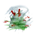 Busch des grünen Grases Lizenzfreie Stockfotos