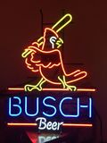 Busch in neon. St.Louis Cardinals Stock Photos