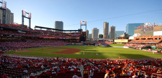 Busch Stadium Royalty Free Stock Images