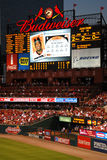 Busch Stadium Royalty Free Stock Photos