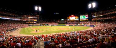 busch stadium Obrazy Royalty Free
