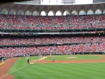 Busch Stadium, cardeais, St Louis, Missouri Imagens de Stock Royalty Free