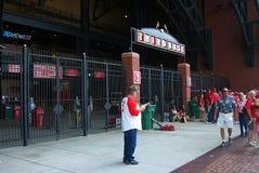 Busch Stadium - St. Louis Cardinals Royalty Free Stock Photo