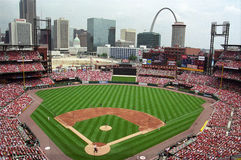 Busch Stadium - St. Louis Royalty Free Stock Photography