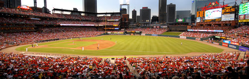 Busch Stadium St Louis Cardinals Stock Photography