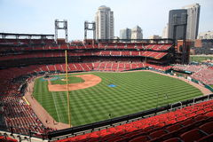 Busch Stadium - St. Louis Cardinals Royalty Free Stock Images