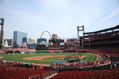 Busch Stadium - St. Louis Cardinals Stock Images