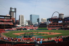 Busch Stadium - St. Louis Cardinals Stock Photography