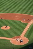 Busch Stadium - St. Louis Cardinals. Albert Pujols bats at the Busch Stadium, downtown ballpark of the St. Louis Cardinals Stock Photos