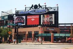 Busch Stadium - St. Louis Cardinals Royalty Free Stock Image