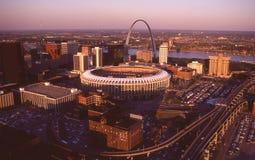 Busch Stadium, St Louis, MO Zdjęcia Royalty Free