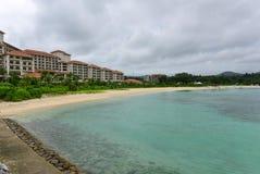 Busena Marine Park em Okinawa fotografia de stock