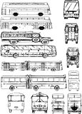 Buses Royalty Free Stock Image