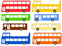 Buses illustration Stock Photography