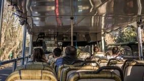 Busfahrt durch Tigre lizenzfreies stockbild