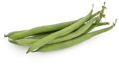 Bush beans (Phaseolus vulgarism) Royalty Free Stock Image