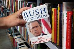 Bush en la guerra foto de archivo libre de regalías