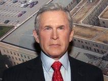 bush george w стоковое изображение