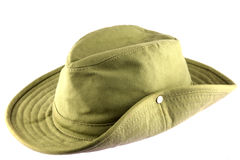 Bush Hat Isolated on White Background Royalty Free Stock Photo