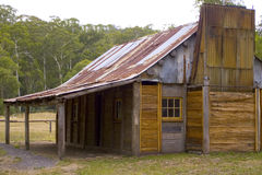 Bush Hut Stock Images