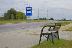 Bushaltestelle Lizenzfreie Stockfotografie