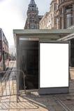 Bushaltestelle Edinburgh stockbild