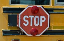 Bushaltestellezeichen Stockbilder
