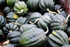 Bushel box of Acorn Squash Royalty Free Stock Photos