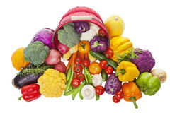 Bushel of Vegetables Royalty Free Stock Photo