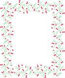 bushes вектор рамки клюквы Стоковое фото RF
