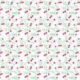 bushes структура клюквы безшовная Стоковое Фото