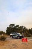 Bushfires in Tasmanien Lizenzfreie Stockfotos
