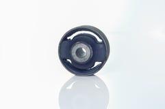 Bushing (isolator) gummi-belägger med metall Arkivbild