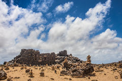 Bushiribana Gold Mine Ruins Aruba Stock Images